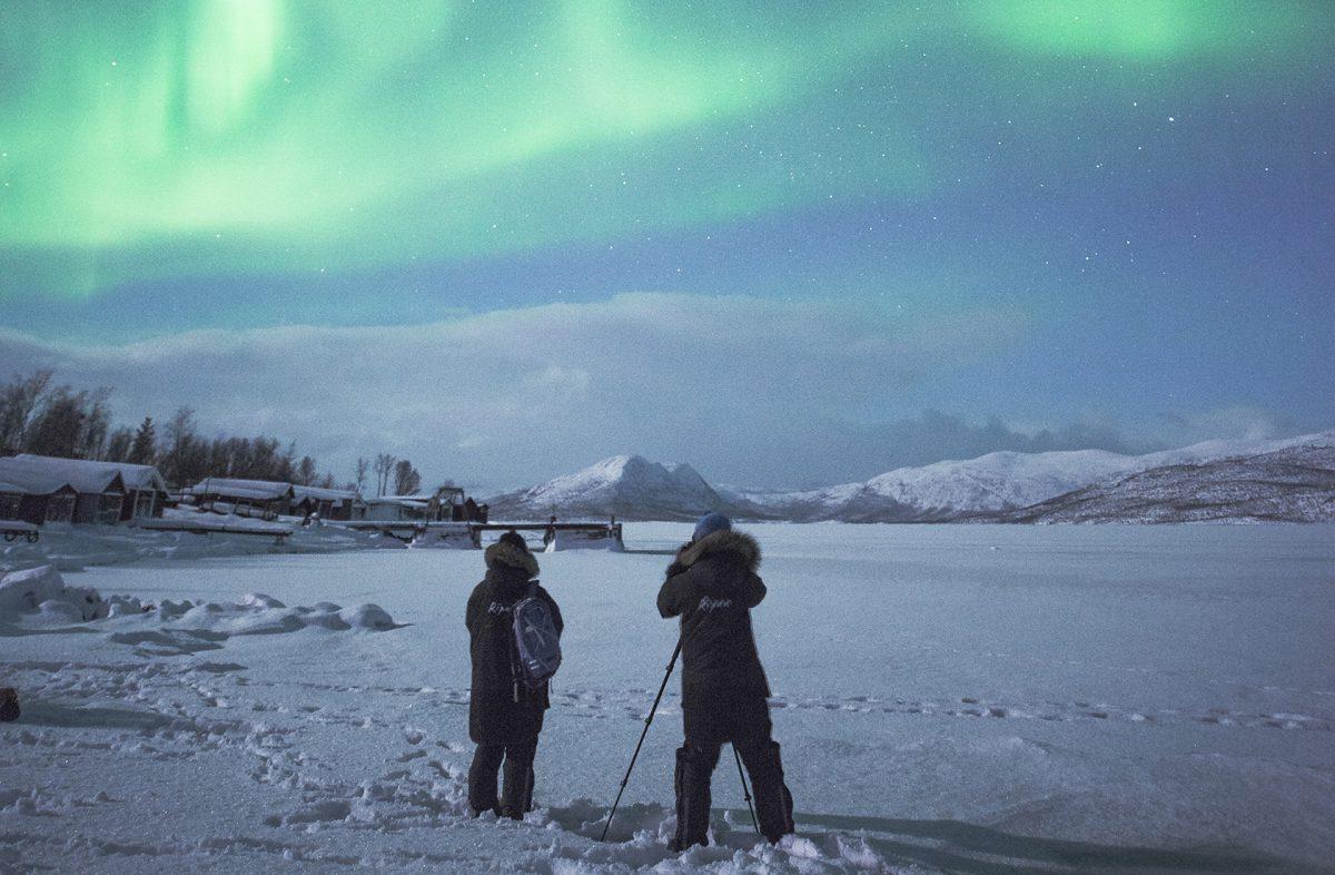 Norrskensfotografering 2