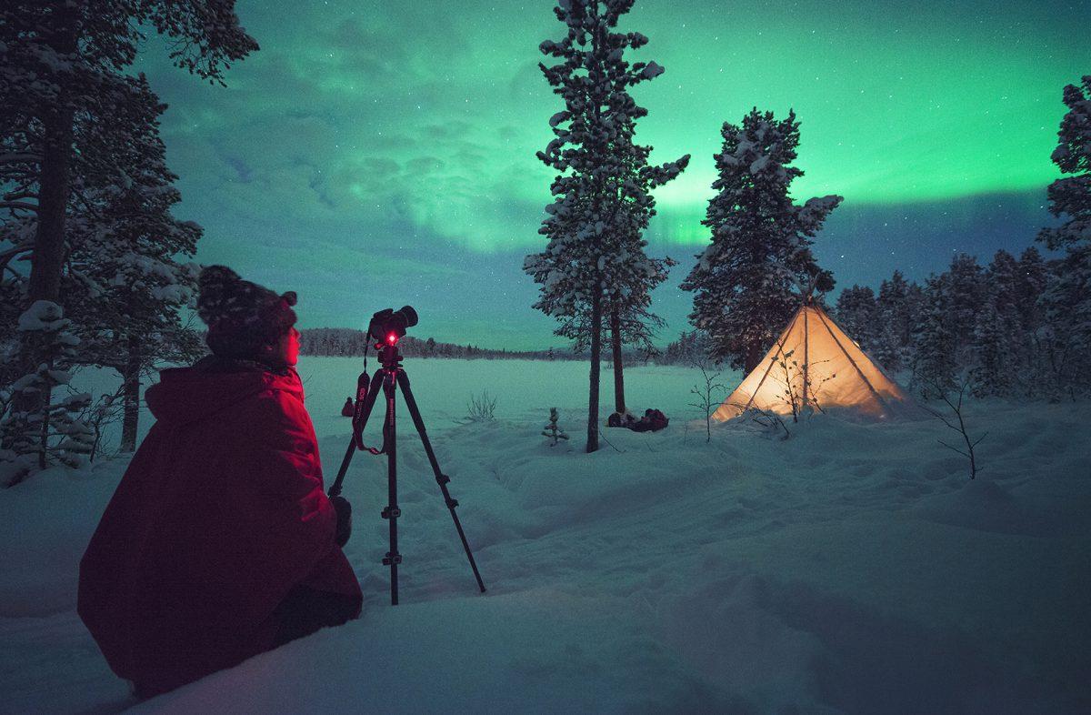 Norrskensfotografering 1