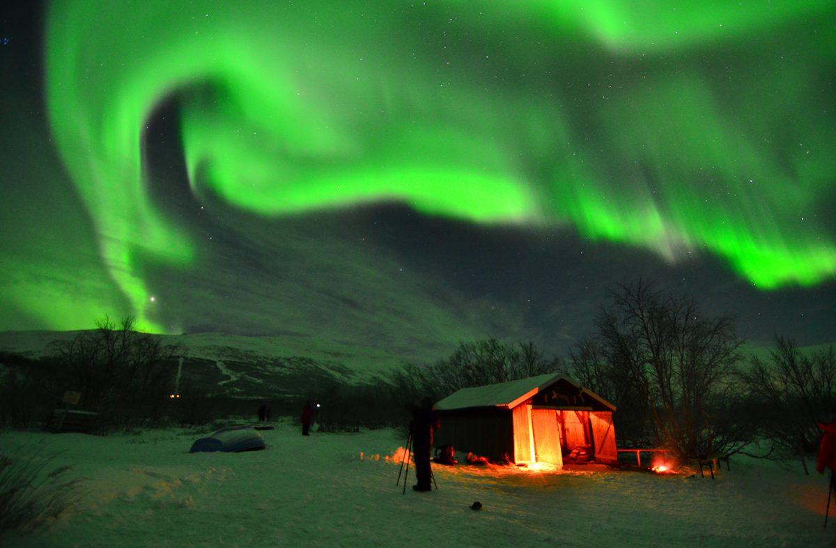 Norrskensfotografering