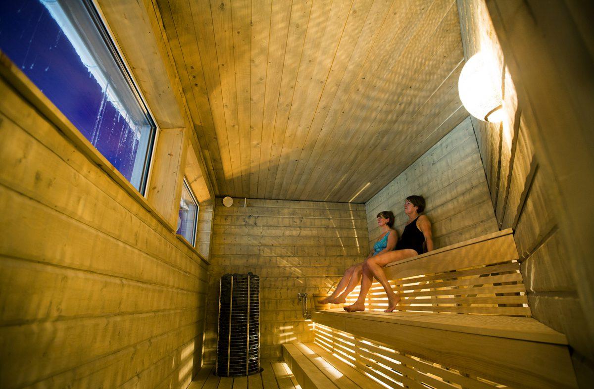 Mineral sauna