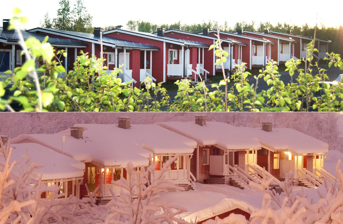 Our cabins.