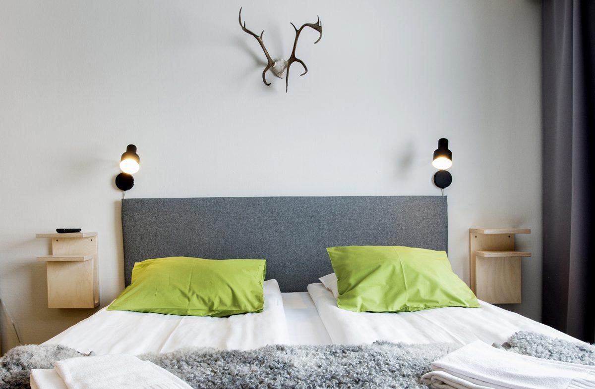 Sängen och renhorn