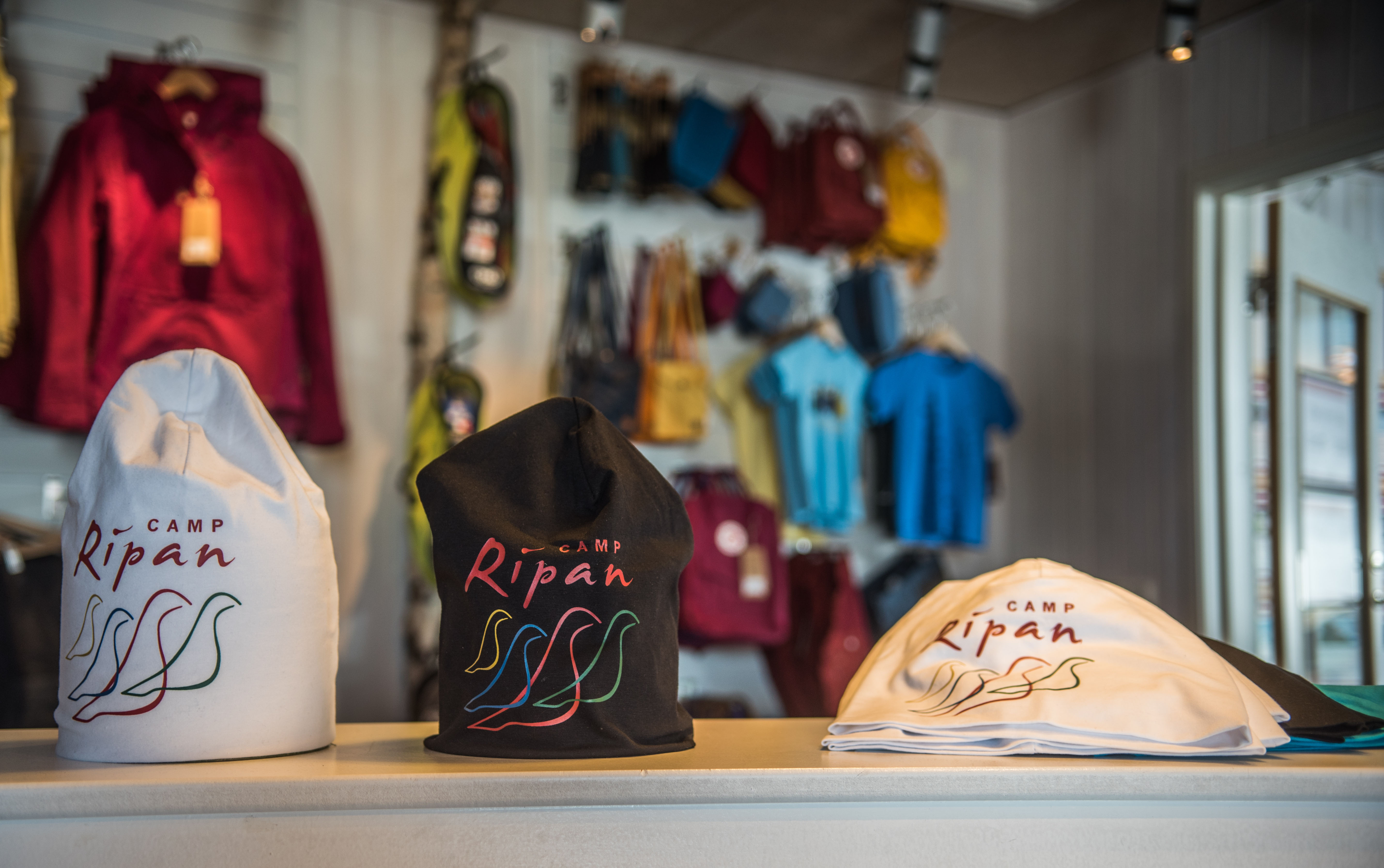 Camp Ripan sportshop