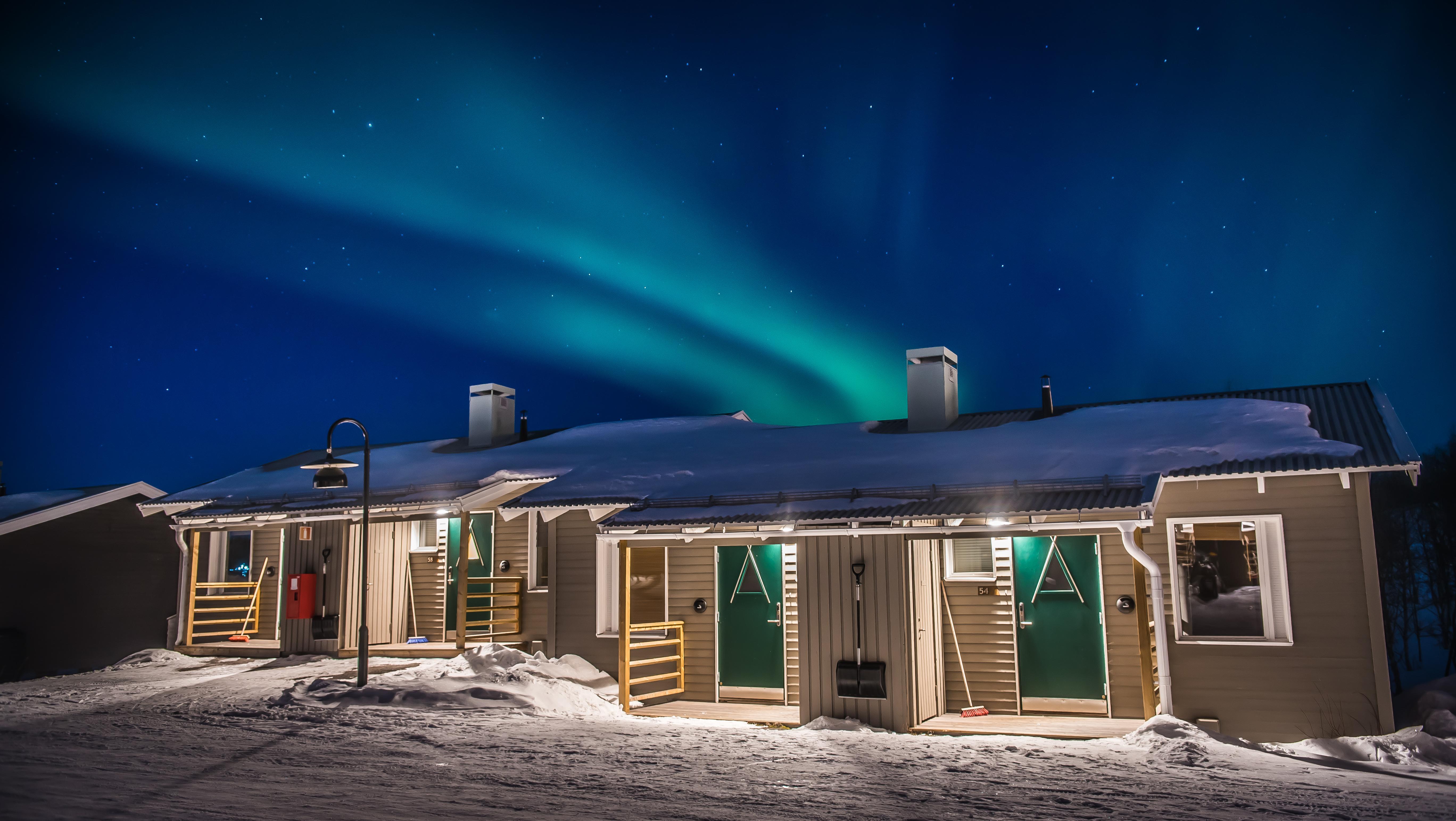 Northern lights in Kiruna | Camp Ripan