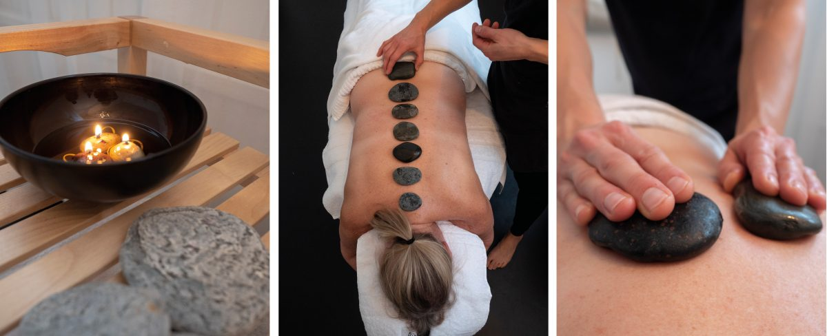 Rakkasjokk hot stone massage