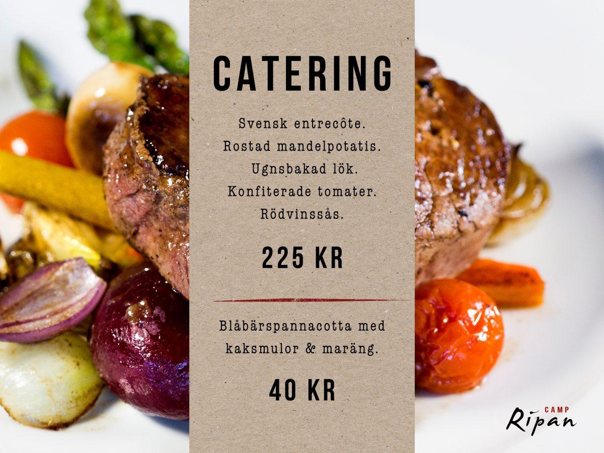catering erbjudande