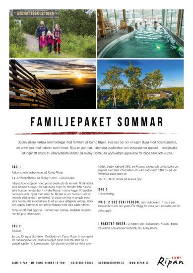 familjepaket sommar